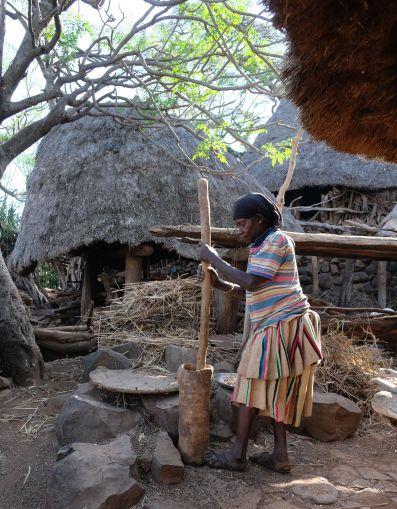 Konso Village - Unesco Weltkulturerbe