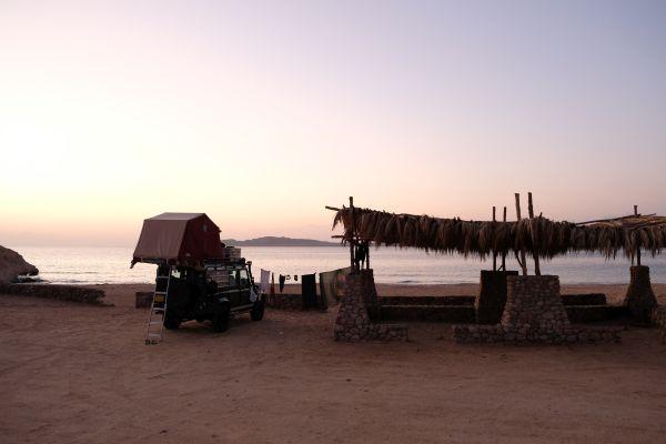 Camping im Ras Mohammed Nationalpark