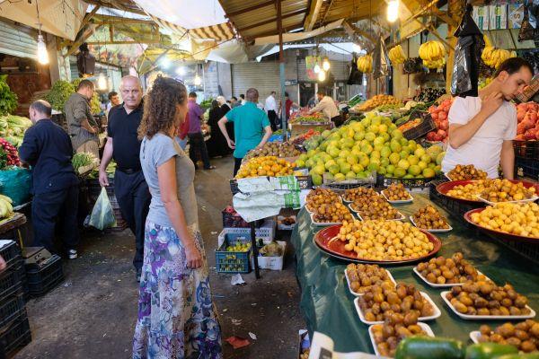 Markt in der Hauptstadt Amman