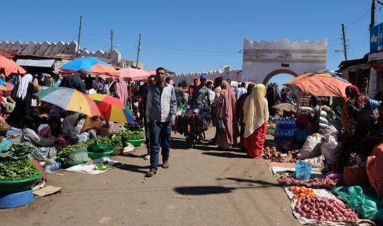Harar (Unesco Weltkulturerbe) - Markt