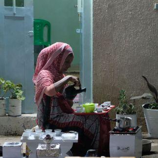 auch in der Danakil celebrieren die Menschen die Kaffeezeremonie