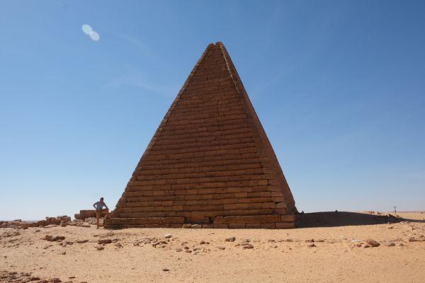 Djebel Barkal Pyramiden bei Karima