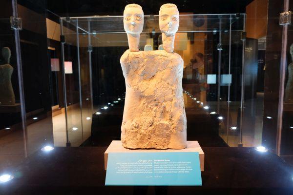 Ain Ghazal Statuen: die wohl ältesten menschlichen Figuren  (8500-8700 Jahre)