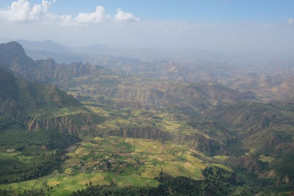 4 tages Wanderung in Simien Mountains
