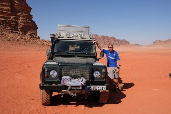 Wadi Rum - Offroad im Sand macht soo Spaß