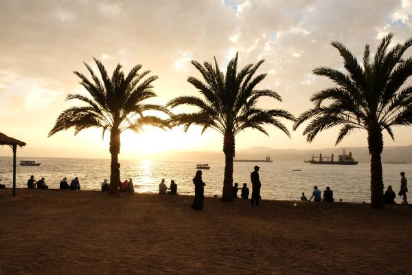 Aqaba - Strandpromenade