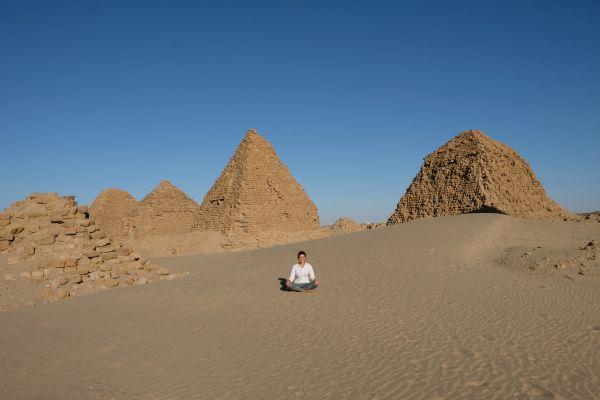 Nuri Pyramiden bei Karima