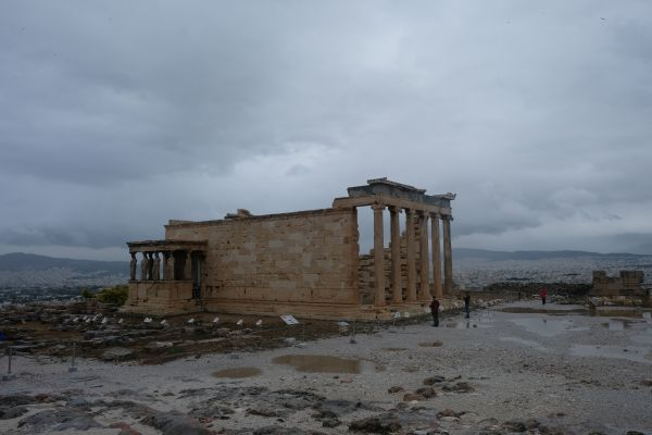 Akropolis - Erechtheion