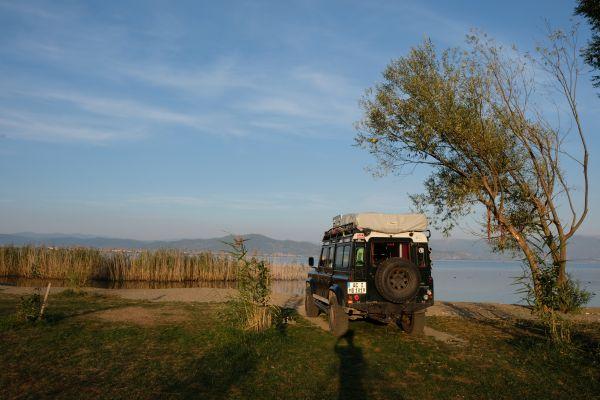 Camping am Ohrid See - ein Traum
