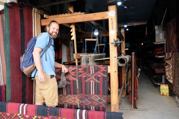 traditionelle Webkunst der Beduin