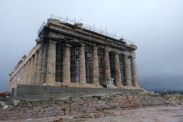 Die Akropolis - Parthenon