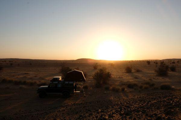 und wenn der Weg doch zu lang ist, kein problem im Sudan...ein riesiger Campingplatz