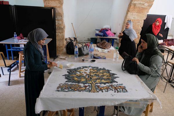 Die Kunst der Mosaike wird weiter gelehrt