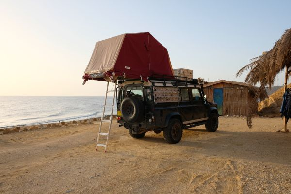 Camping im Rock Sea Nuweiba