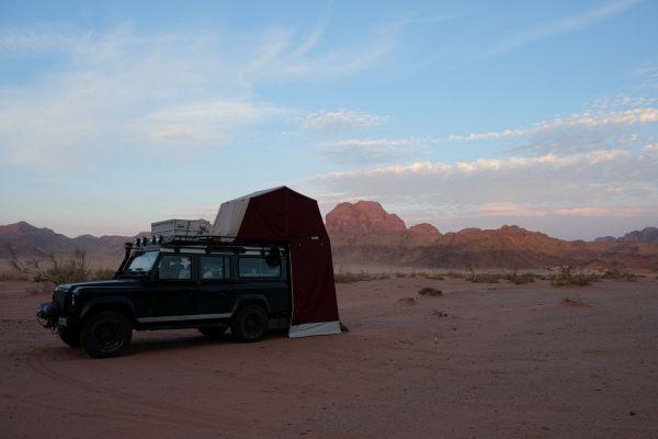 Camping im Wadi Rum