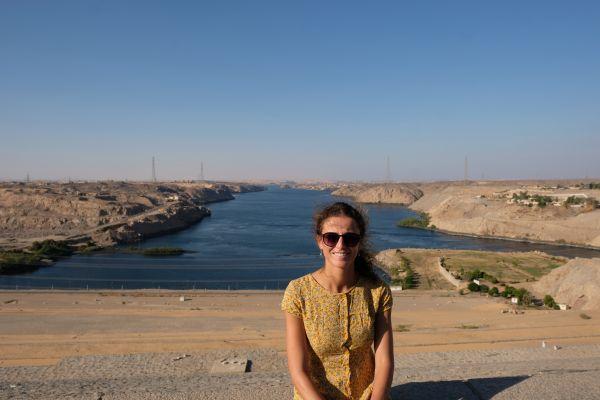 es - Sadd- el- Ali : Assuan Staudamm staut den Nil zum riesigen Nasser See