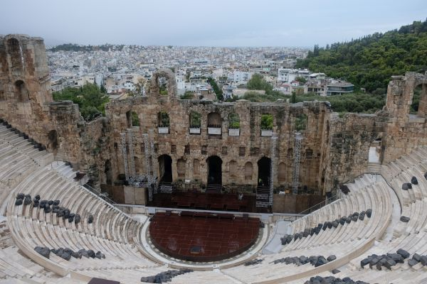 Akropolis - Odeon des Herodes Atticus