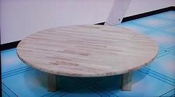 ちゃぶ台のゴム積層材の天板にもご利用いただけます。