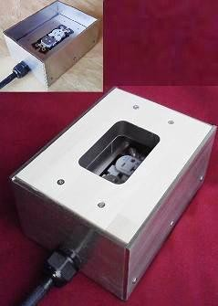 ハードメープル積層材オーディオ用電源ボックス