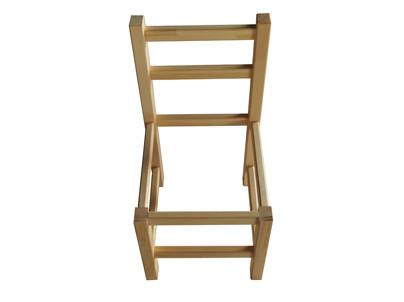 いすの枠の完成