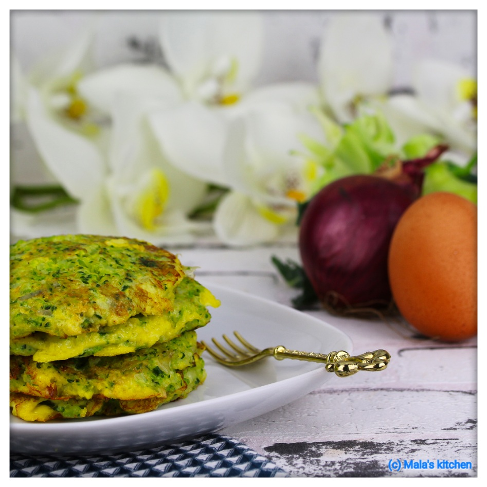 Brokkoli-Käse-Laibchen