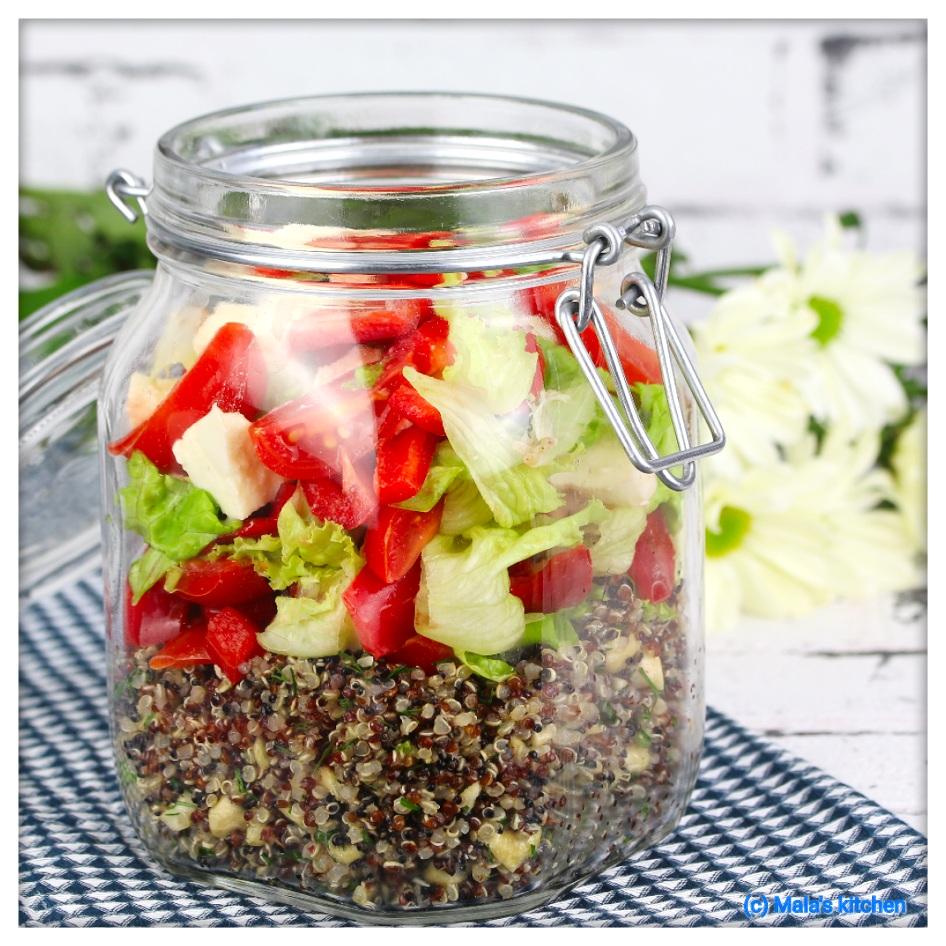 Tricolore-Quinoa-Salat