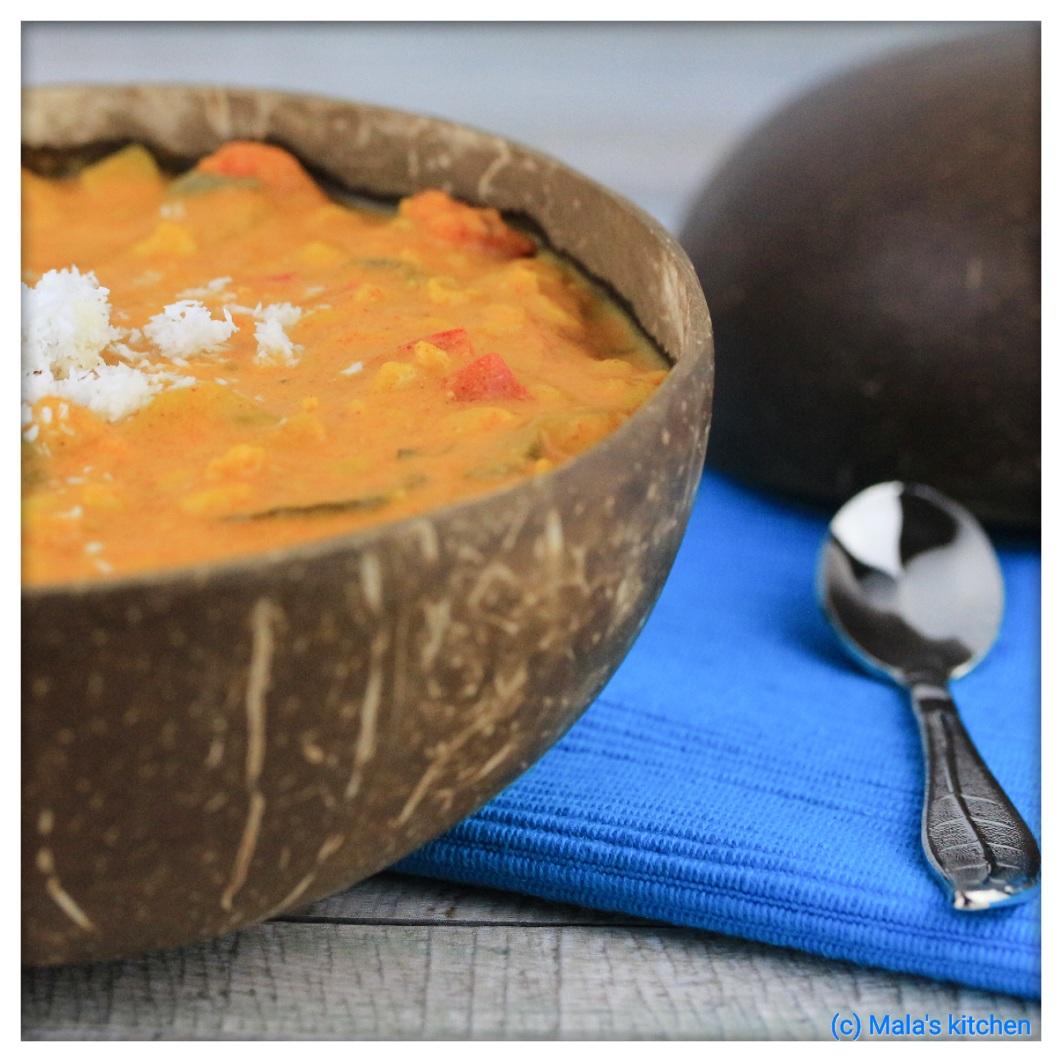 Gemüse-Kichererbsen-Curry