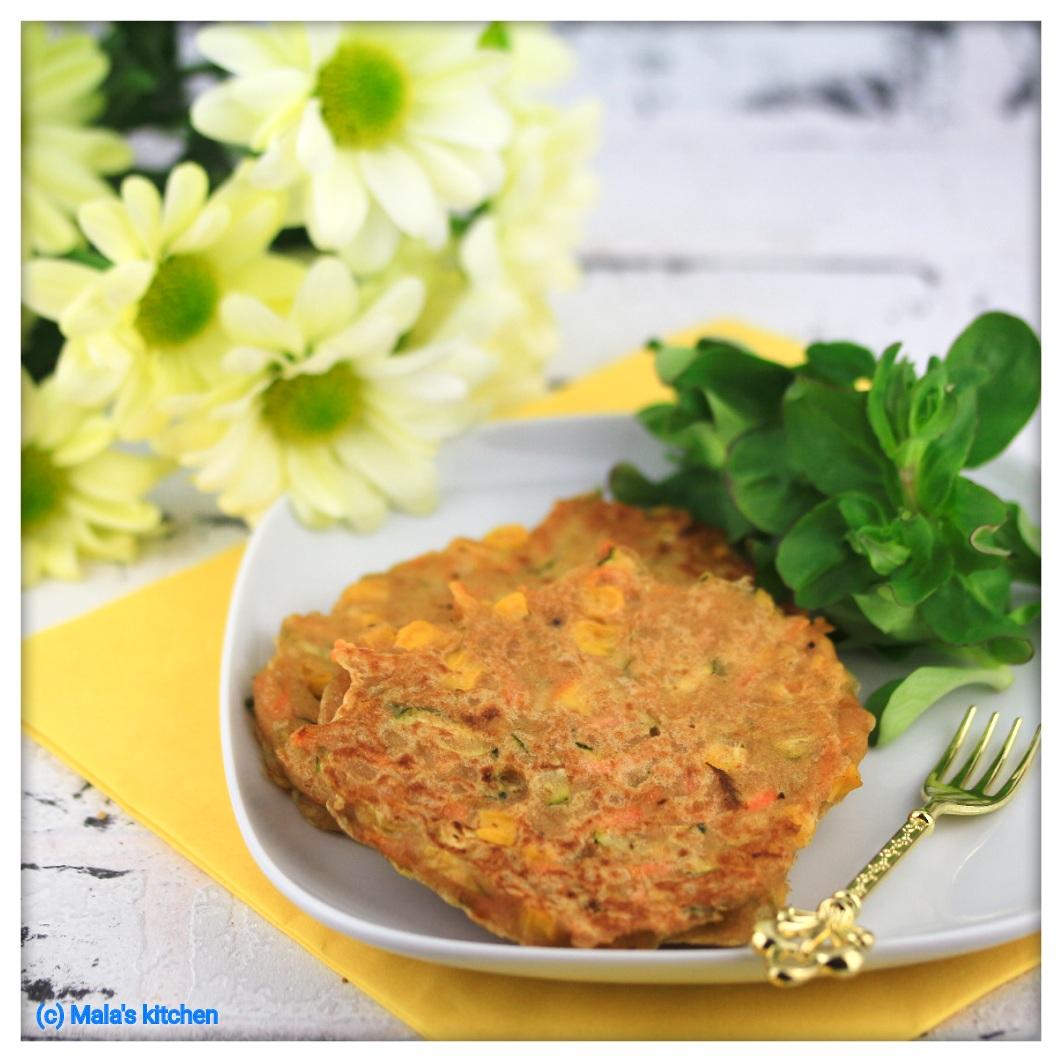 Gemüse-Pancakes