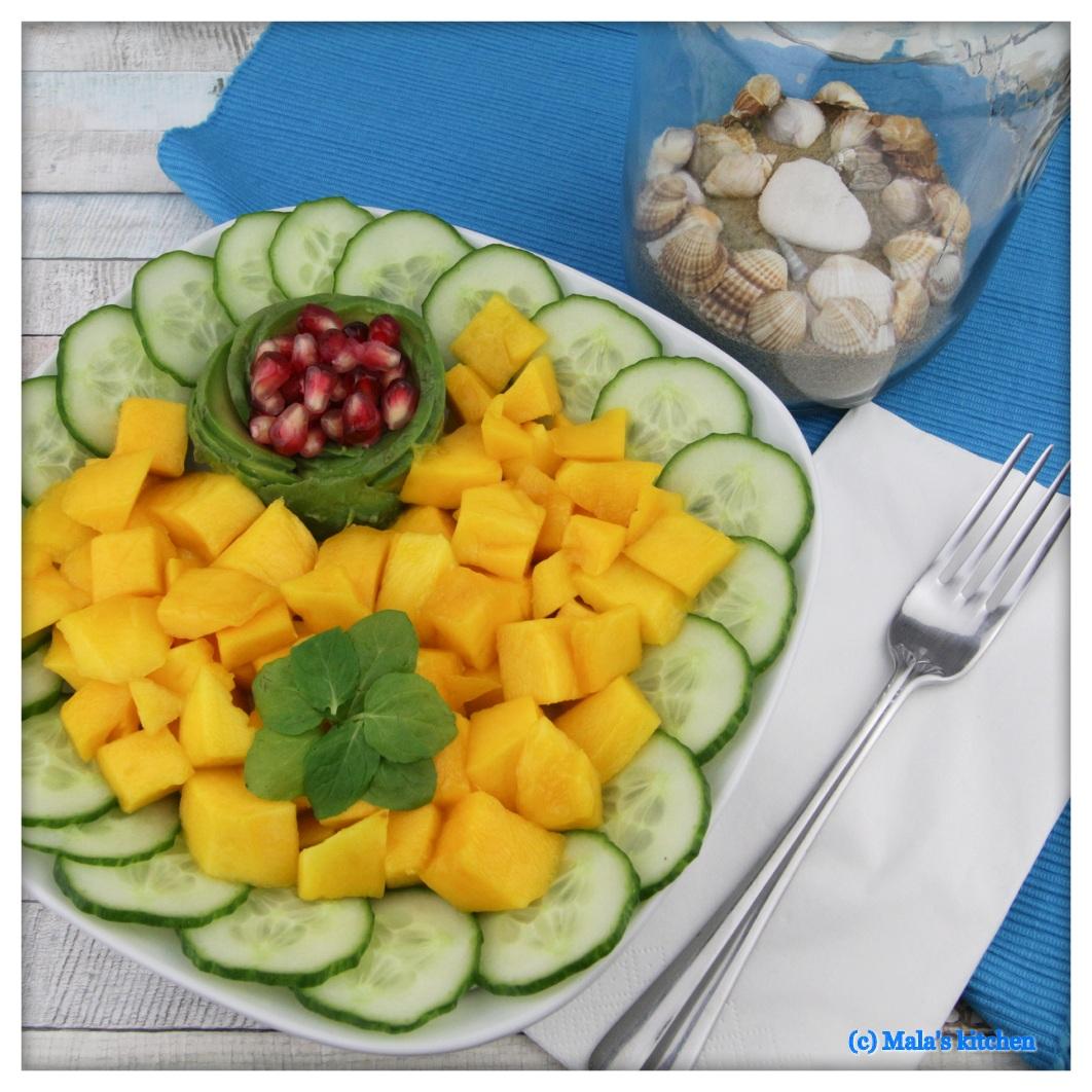 Mango-Gurken-Salat