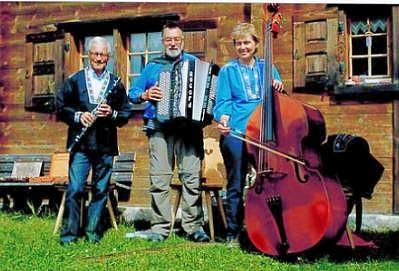 Peter Häusermann,   Johannes Kaspar und Rita Bundi