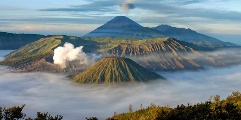 """Vulcano's of the archipel"" (Bromo - INDONESIA)"