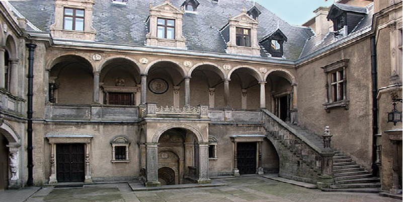 """""""Unique castle with an amazing facade"""" (Khalisz - POLAND)"""