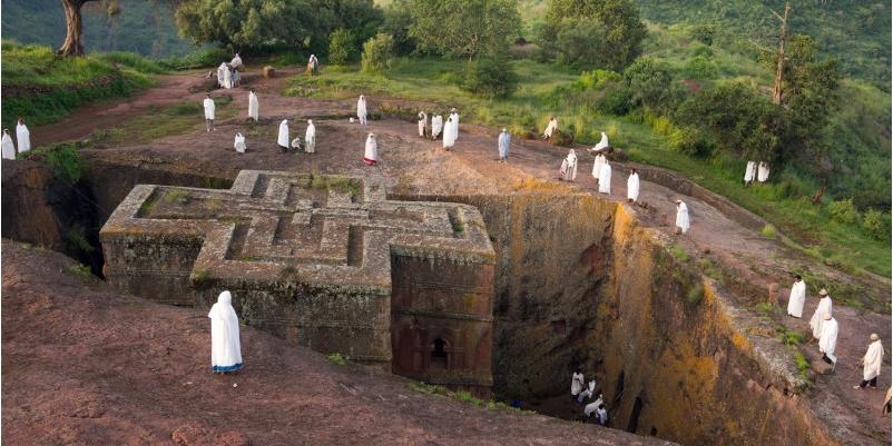 """The Underground church"" (Lalibela - ETHIOPIA)"