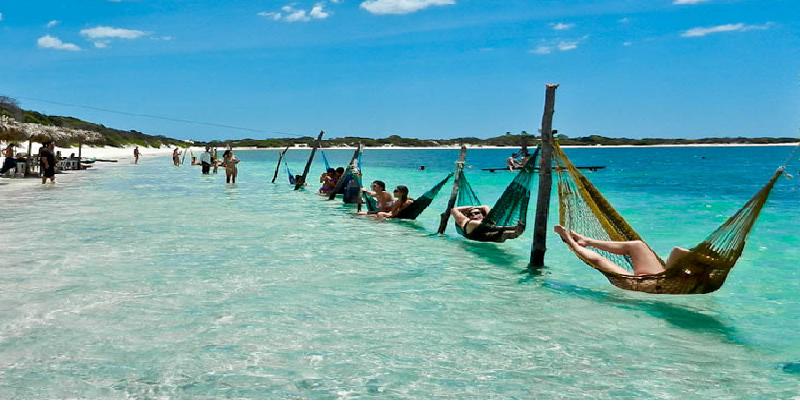 """Relaxing in you're hammock"" (Jericoacoara - BRASIL)"