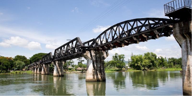 """Remains of the Dead Railway"" (Kanchanaburi - THAILAND)"