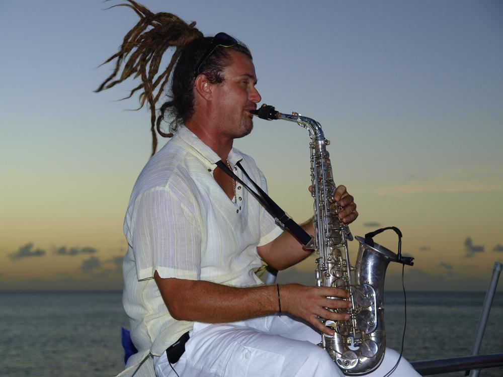 Sexy Saxophon, St. Lucia