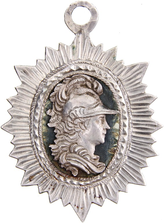 Silbermedaillon Baden-Durlach ~ 1760, Auktionserlös 550 Euro