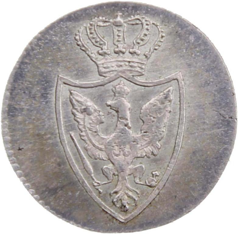 1/30 Taler Silber 1818, Versuchsprägung Rarität, Auktionspreis 7100 Euro