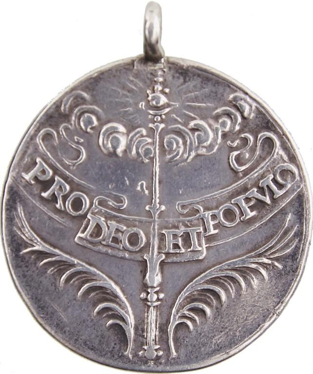 Krönungsjeton Ferdinand IV. von Böhmen 1653, Silber Auktionserlös 80 €
