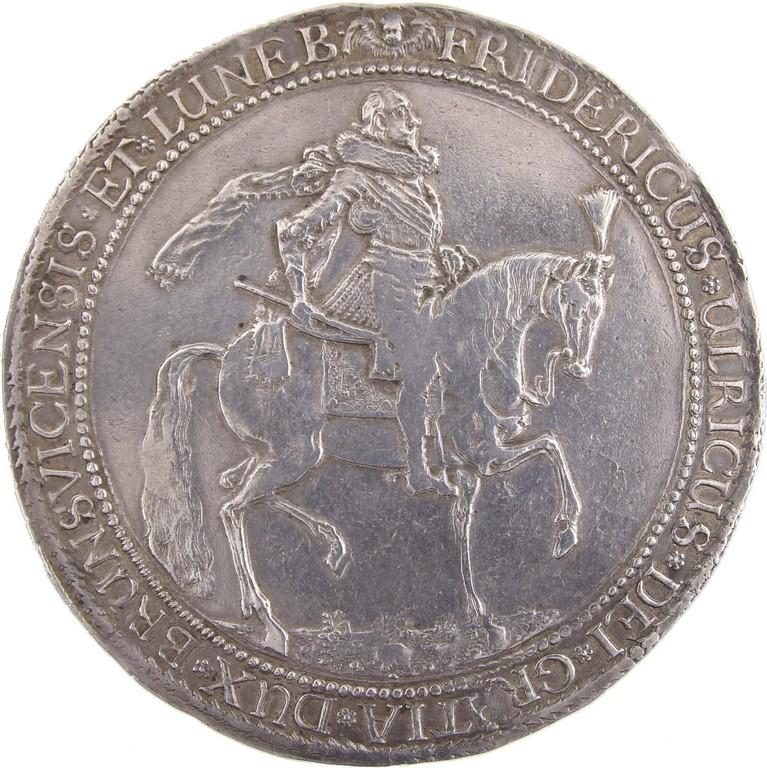 Löser zu 3 Talern Silber, Braunschweig 1624, erzielte 4900 Euro