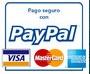 Pago por PayPal o Targeta de Crédito