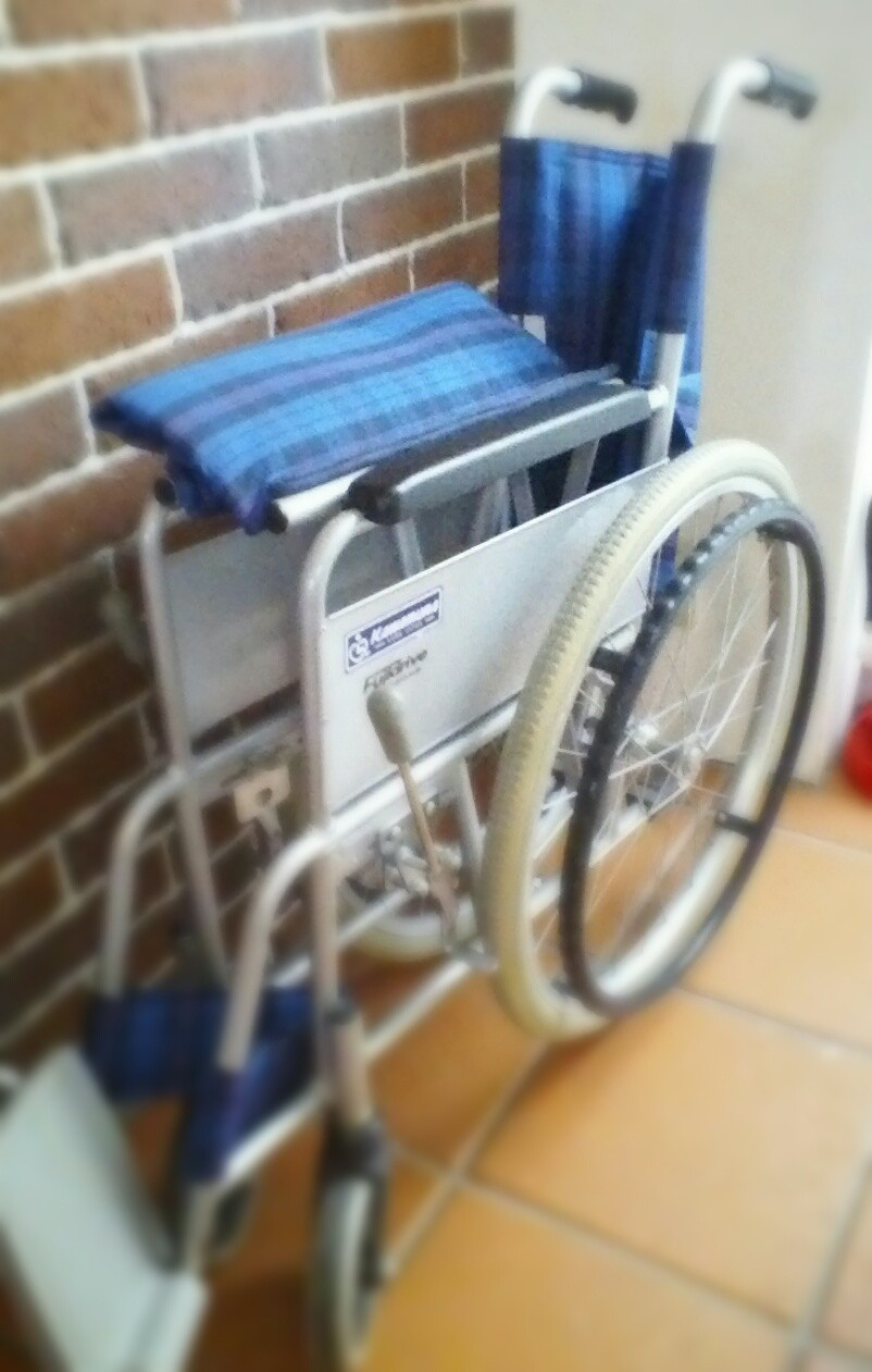 車椅子もお貸しできます。