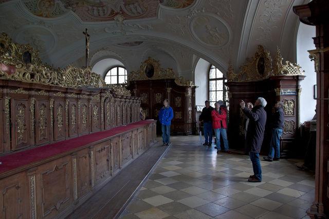 Eine Besonderheit stellt die barocke Sakristei der Klosterkirche dar.