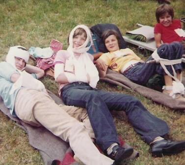 Samariterübung 1974