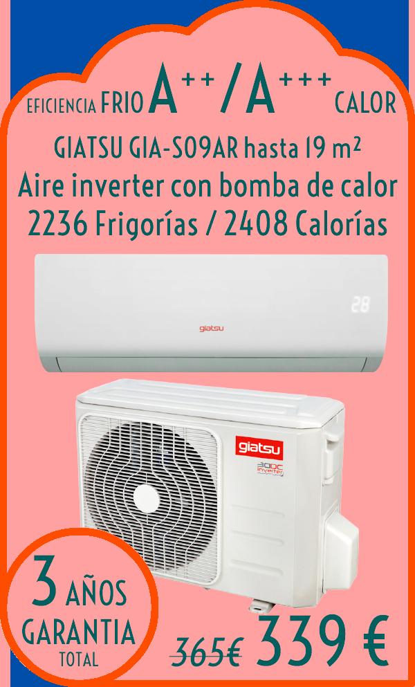 Aire acondicionado aire acondicionado barato aire for Aire acondicionado 3500 frigorias inverter