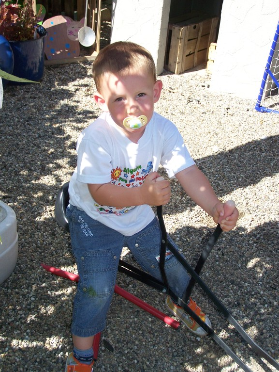 Noah als Baggermeister