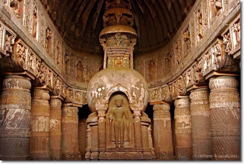 Ajanta  Chaitya Höhle