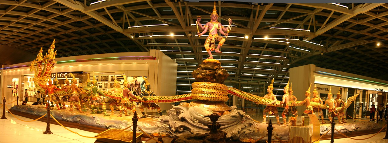 Bangkok Flughafen