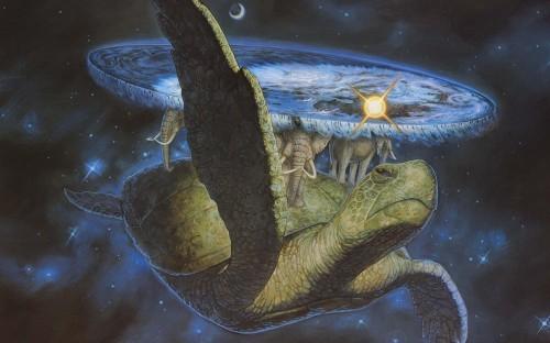 Kurma die Weltenschildkröte trägt unsere Galaxie....hier eine optisch grob manifestierte Form