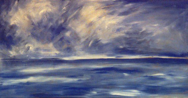Sturm über dem Atlantik